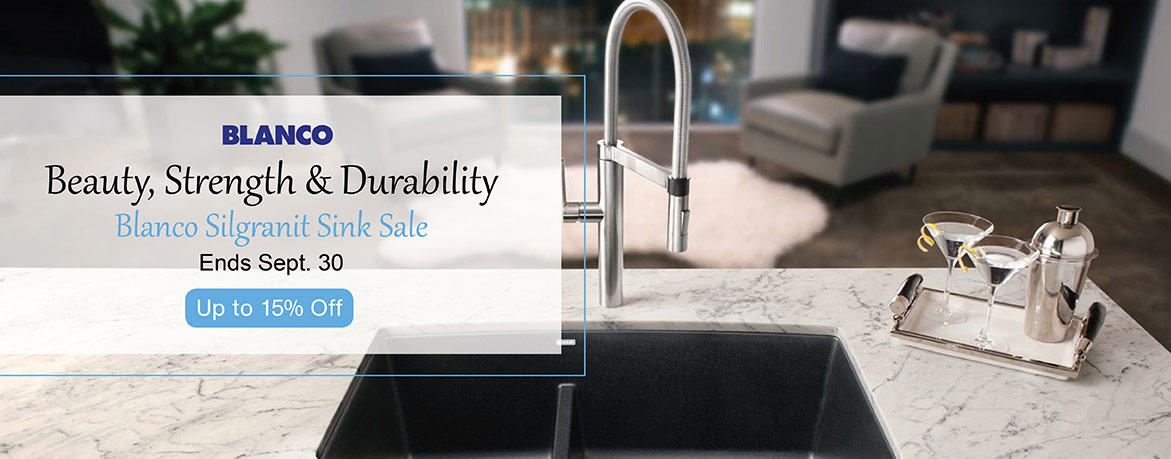 Blanco - Beauty, Strength, and Durability. Blanco Silgranit Sink Sale - Ends Sept. 30th