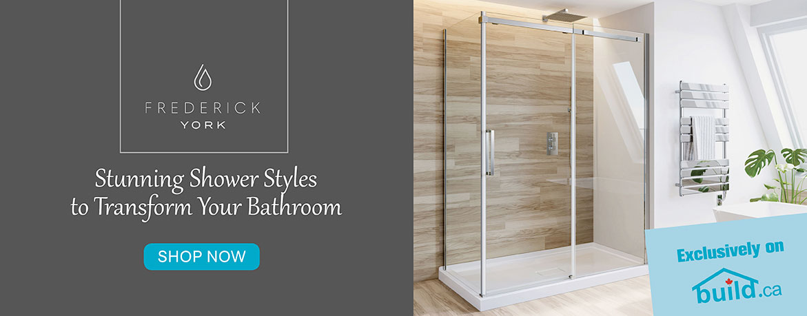 Frederick York - Stunning Shower Styles to Transform Your Bathroom - Shop Now