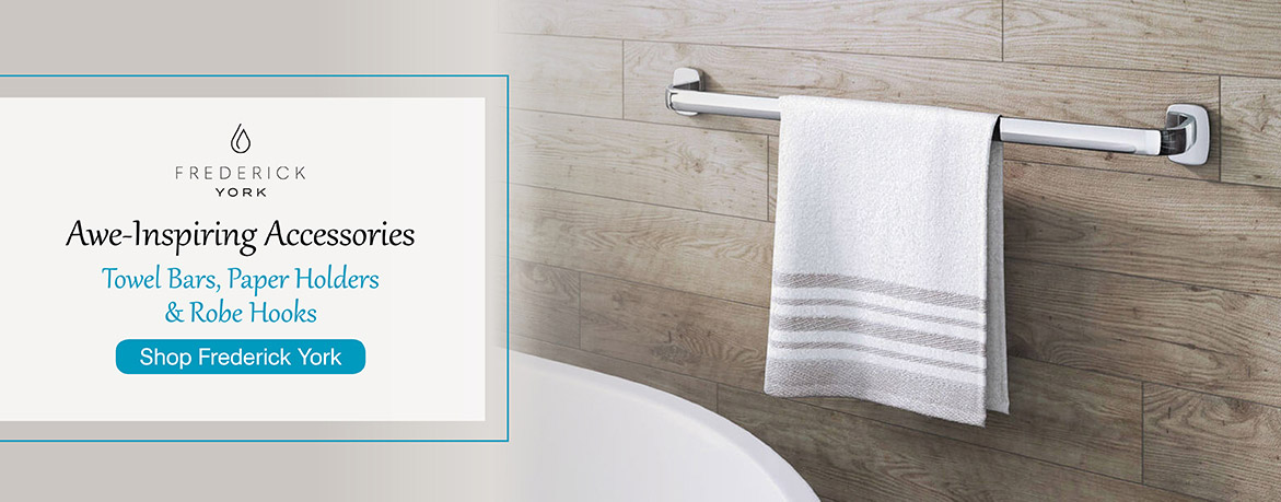 Awe-Inspiring Accessories - Towels Bars, Paper Holders, and Robe Hooks - Shop Frederick York