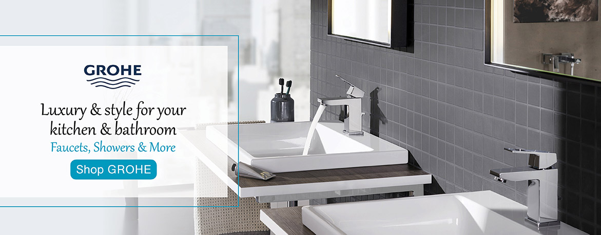 Grohe - Luxury and Style for your kitchen and bathroom. Faucets, showers, and more.