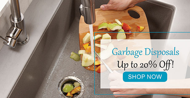Garbage Disposals - Up to 20% Off