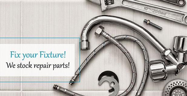 Fix your Fixture! We stock repair parts!