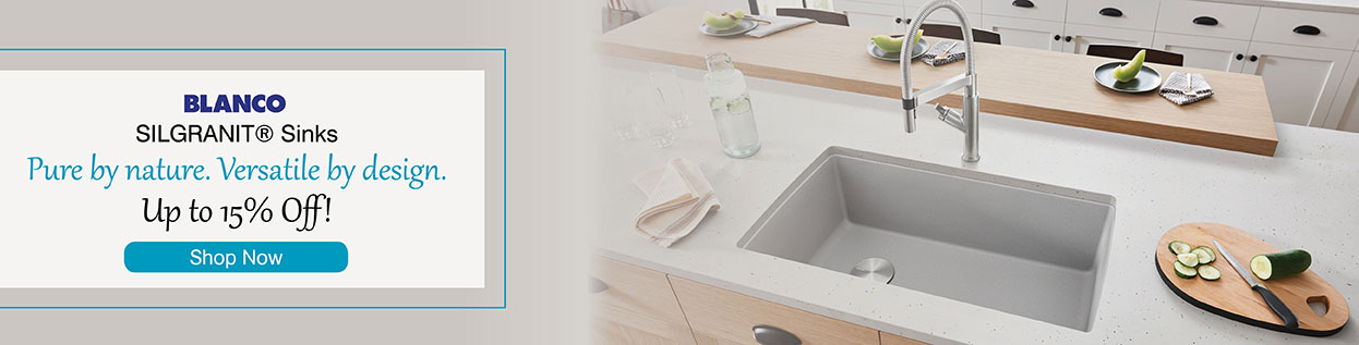 Blanco - Silgranit Sinks - Pure by nature. Versatile by design. Up to 15% Off