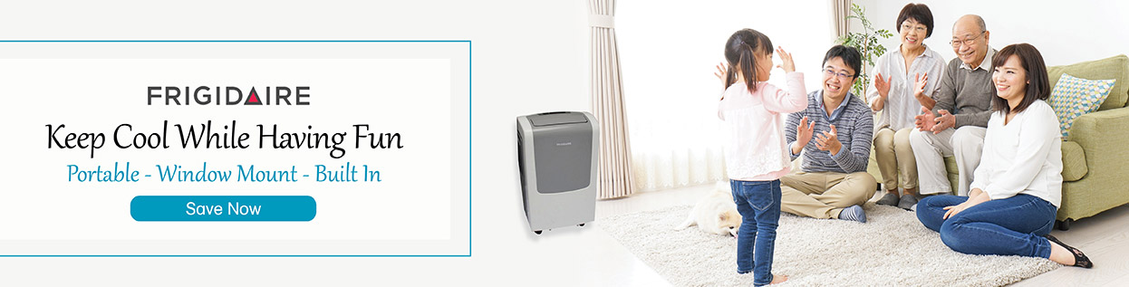 Frigidaire - Keep Cool While Having Fun - Portable, Window Mount, Built-In