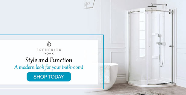 Frederick York - Style and Function - A modern look for your bathroom!