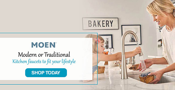 Moen - Modern or Traditional - Kitchen faucets to fit your lifestyle - Shop Today