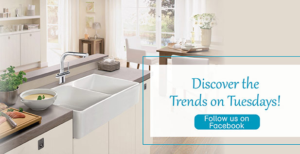 Discover the trend on Tuesdays! Follow us on Facebook