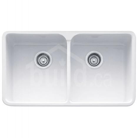 Incredible Mhk720 31Wh Franke Manor House Apron Kitchen Sink 2 Bowls Home Interior And Landscaping Palasignezvosmurscom