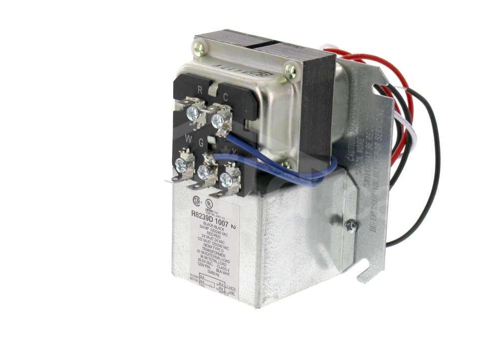 r8239d1007  honeywell fan center/relay transformer dpst