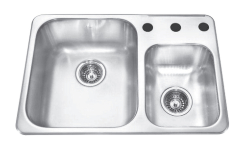 Kindred Drop In Undermount Kitchen Sink