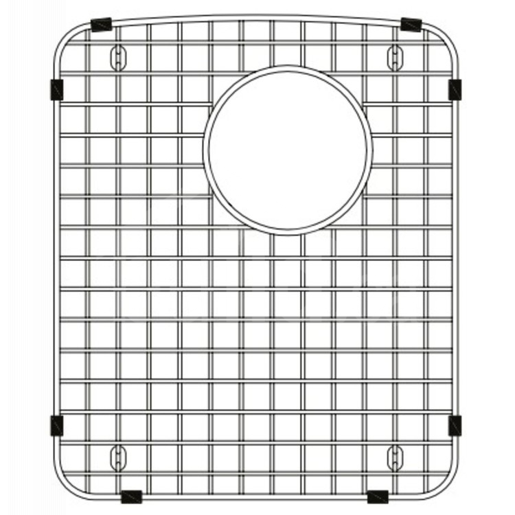 406468 Blanco Bottom Grid 13 X 15 Left Side Build Ca