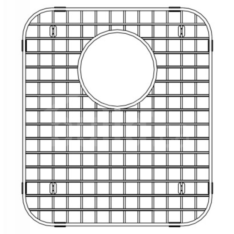406496 Blanco Bottom Grid 13 X 15 Build Ca